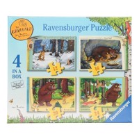 The Gruffalo Puzzle, 4in1
