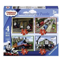 Thomas the Train Puzzle, 4in1