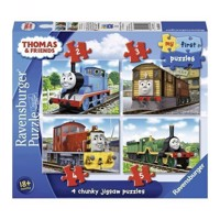 Thomas & Friends puzzle, 4 in 1