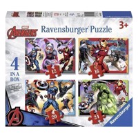 The Avengers Puzzle, 4in1