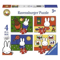 Miffy Puzzle, 4in1