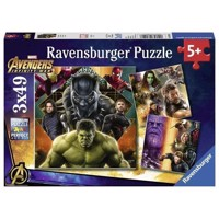 Avengers Infinity War Puzzle, 3x49st.