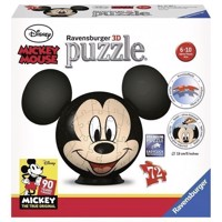 Puzzle ball Mickey Mouse with Ears, 72 psc