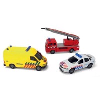 Dickie Emergency Services Vehicles, 3pcs.