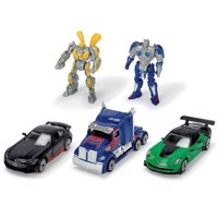 Transformers M5 Vehicles, 5pcs - Optimus Prime and Bumblebee