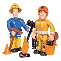 Firefighter Sam Toy figures - Sam and Arnold