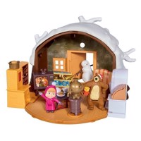 Masha and the Bear Winter House Play Set