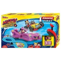 Carrera First Race Track - Mickey Roadster Racers with Minnie