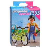 Playmobil 4791 Handyman with Bicycle