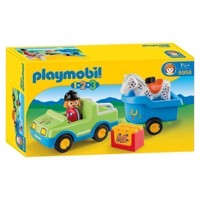 Playmobil 6958 Wagon with Horse trailer