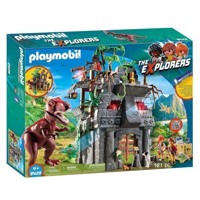 Playmobil 9429 Base Camp of the Explorers with T-Rex