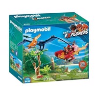 Playmobil 9430 Helicopter with Pteranodon