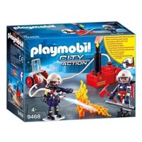 Playmobil 9468 Fire Department with Water Pump