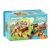 Playmobil Spirit 9478 Lucky & Spirit with Horsebox