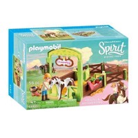 Playmobil Spirit 9480 Abigail & Boomerang with Horsebox