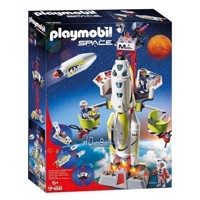 Playmobil 9488 Mars rocket with launch platform