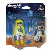Playmobil 9492 DuoPack Astronaut and Robot