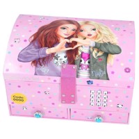 TOPModel Jewelry Box with Code and Sound - Pink