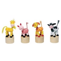 Wooden Print Figure Animals
