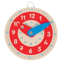 Wooden Clock Learn To Look