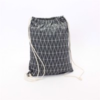 Backpack Textile Gray Design