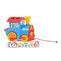Wader Smurfs Play and Learn Train