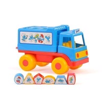 Wader Smurfs Play and Leather Truck