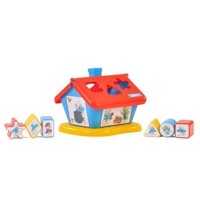 Wader Smurfs house with blocks