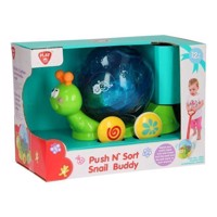 Playgo Push and Sort snail
