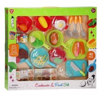 Playgo Kitchen and Food Set, 40 psc