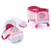 Hauck My Little Pony Baby Bed and Travel Cot