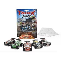 Trixx 360 Short Ramp Set with car