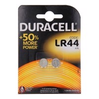 Duracell Alkaline Battery LR44 1.5V, 2pcs.