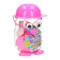 Clay Owl Money Box-Pink