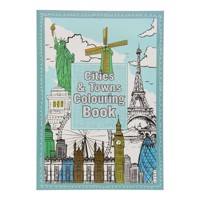 Coloring book Cities & Towns