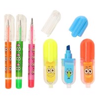 Mini Odor Marking Sticks and Gel Pencils, 6pcs.