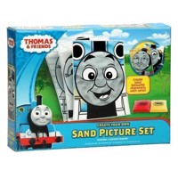 Thomas the Train Making Sand Figures