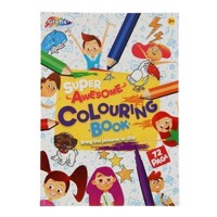 Super Coloring Book
