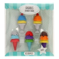 Ice creams eraser with Smell, 5 psc