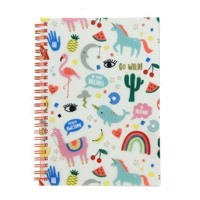 Happy Zoo Notebook A5