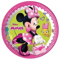 Minnie Mouse plates  8 psc