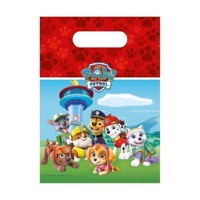 Paw Patrol Dispenser bags, 6pcs.