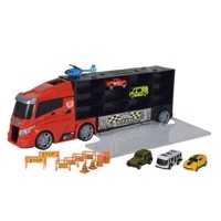 Truck with Cars in Storage Suitcase