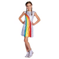 K3 Dress Gown Rainbow, 6-8 years