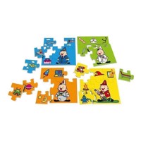 Bumba Puzzle Professions, 4in1
