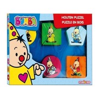 Bumba Wooden Puzzle with Thick Pieces, 12pcs.