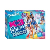 K3 Puzzle Roller Disco with Poster