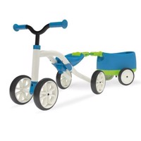 Chillafish Quadie Balance Bike with Trailie - Blue