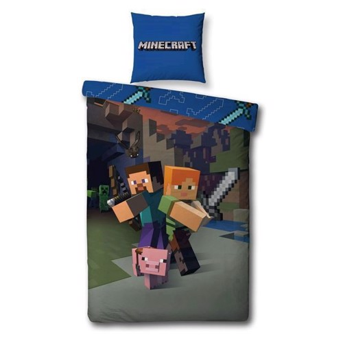 Duvet cover Minecraft