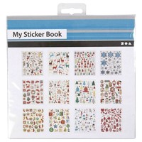 Sticker package Christmas, 12 sheets